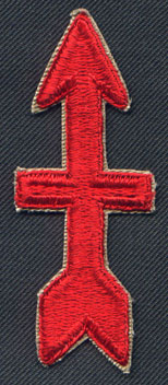 Description: Description: WW2 32nd Division insignia